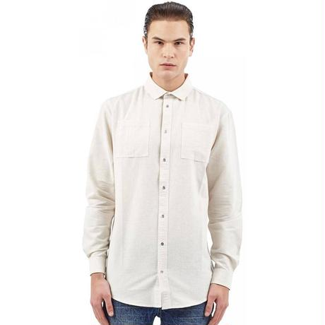 I LOVE UGLY / CUTAWAY SHIRT - WHITE