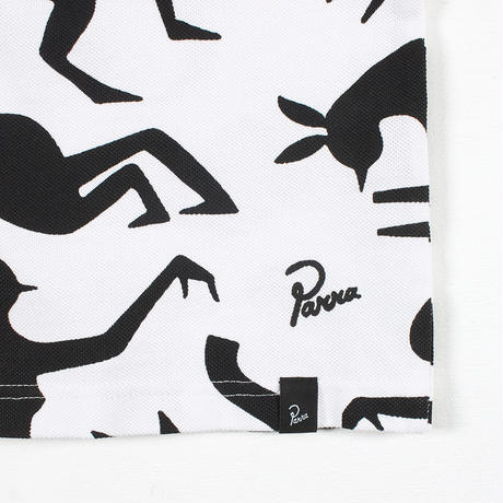 by Parra / polo piqué workout woman horse