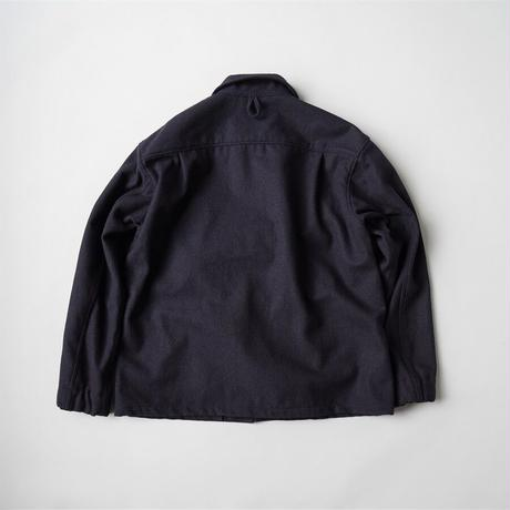 allinone / SMOCK TOP - melton wool jacket