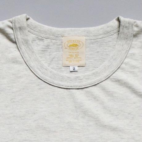 camels hotel / crew neck SS-Tshirts / oatmeal melange