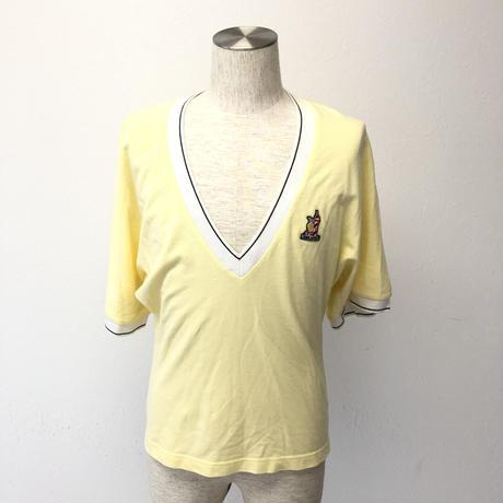 ディースクエアード2 Tシャツ  L   イエロー