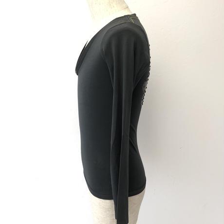 HTC グレー ブラック ユニセックス  xxsTシャツ