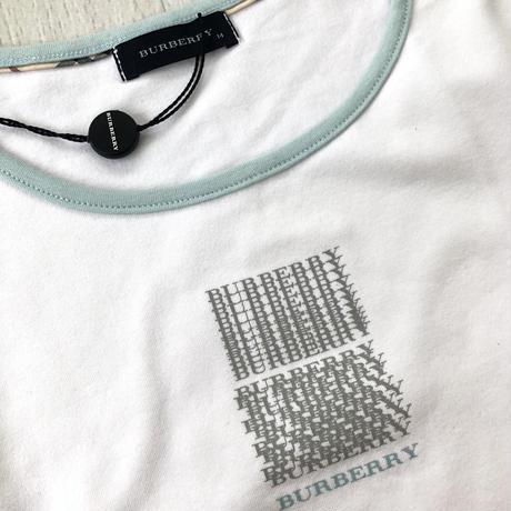バーバリー Tシャツ サイズ14 ホワイト 新品