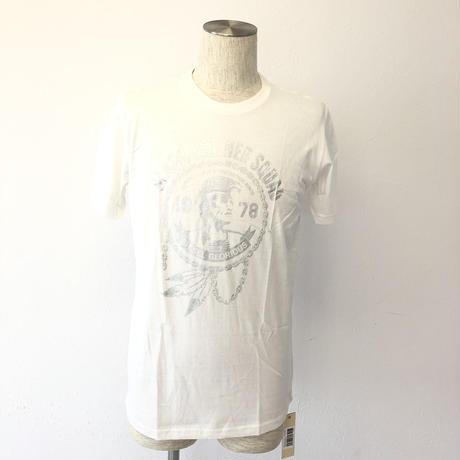 ディーゼル メンズ  Tシャツ  ホワイト ロゴ L005