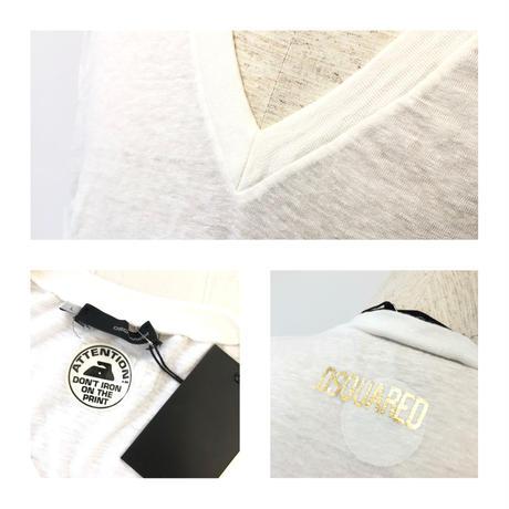ディースクエアード2 Tシャツ  ホワイト  L