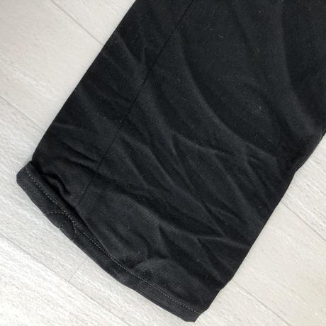 エイチティーシー HTC アパレル ボトムスデニムブラックHTC ロゴボタン付き5ポケット