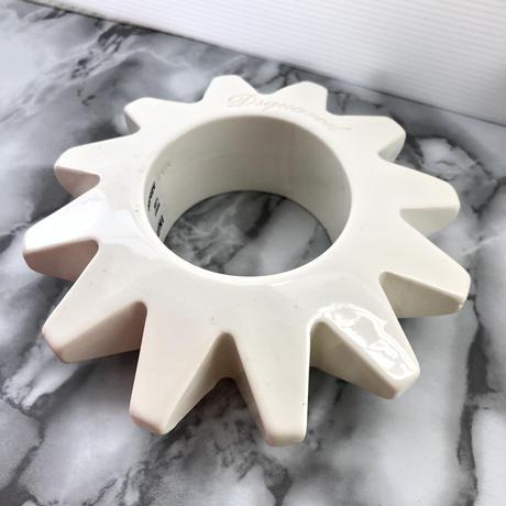 DSQUARED ディースクエアーブレス 個性的 ホワイト 樹脂