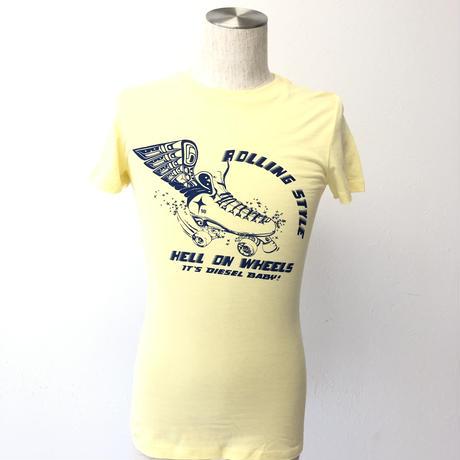 ディーゼル イエロー ユニセックス S  Tシャツ