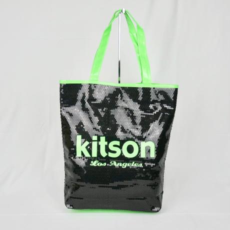 KITSON  スパンコール トートバッグ B191