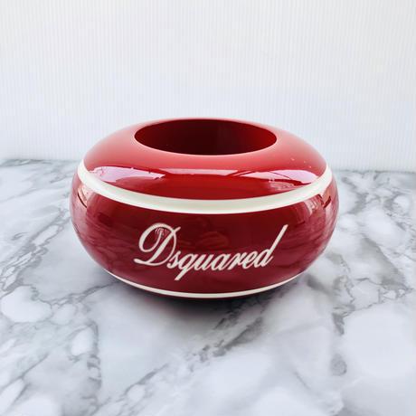 DSQUARED ディースクエアーブレス 個性的 レッド 樹脂