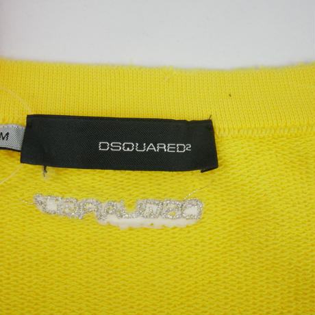 DSQUARED ウエストギャザー付き Vネックトレーナー LT512