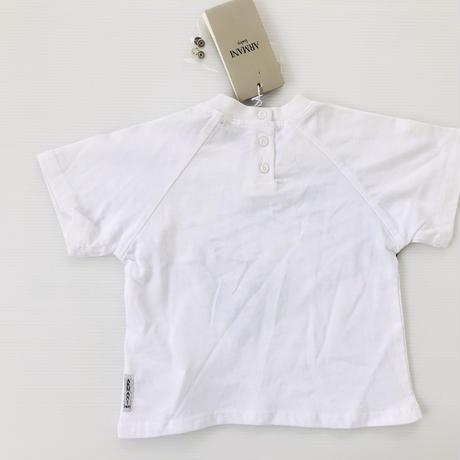 ARMANI baby アルマーニベイビー 半袖Tシャツ ロゴ