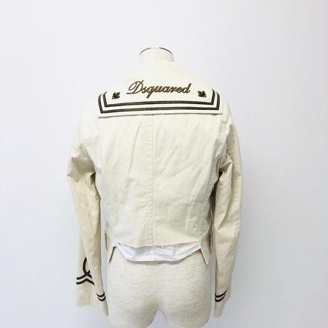 ディースクエアード2 ジャケット オフホワイト  48