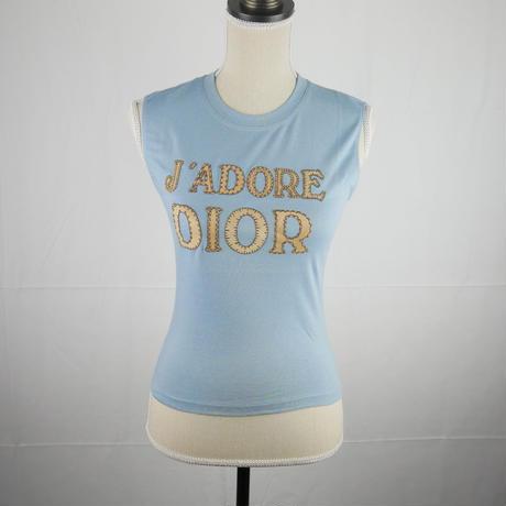 Christian Dior アップリケジャドール ノースリーブ LT500