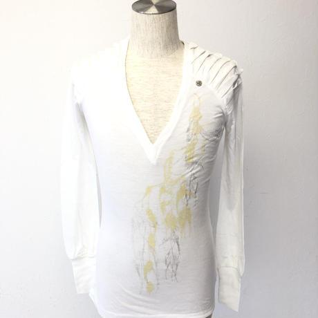 ディーゼル ホワイト ユニセックス   M  ロングTシャツ