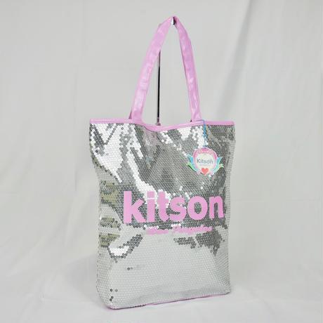 KITSON  スパンコール トートバッグ B189