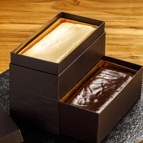 ◆口溶けなめらか濃厚テリーヌショコラ「ショコラ・chocolat」&濃厚チーズケーキ「チーズ フロマージュ・cheese fromage」&抹茶テリーヌ2本セット◆地方発送可