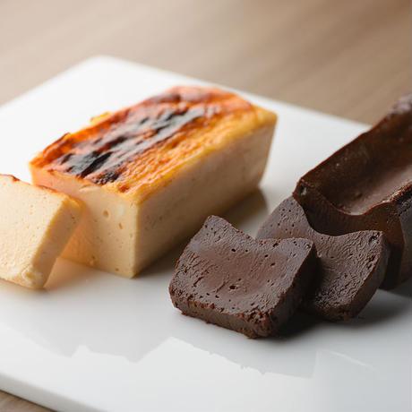 ◆口溶けなめらか濃厚テリーヌショコラ「ショコラ・chocolat」&濃厚チーズケーキ「チーズ フロマージュ・cheese fromage」6本セット◆地方発送可
