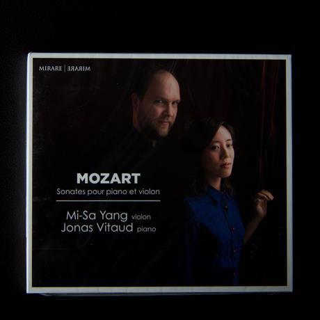 ミサ・ヤン(ヴァイオリン)、ジョナス・ヴィトー(ピアノ) モーツァルト ピアノとヴァイオリンのためのソナタ