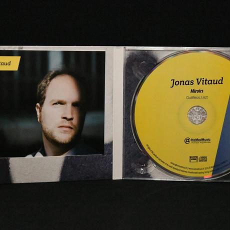 Miroirs   ジョナス・ヴィトー  (ピアノ) デュティユー、リスト ピアノ曲集
