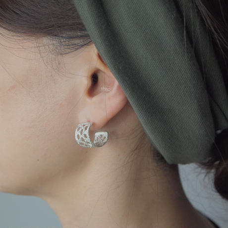 Recollection lace pierce (L)  | silver