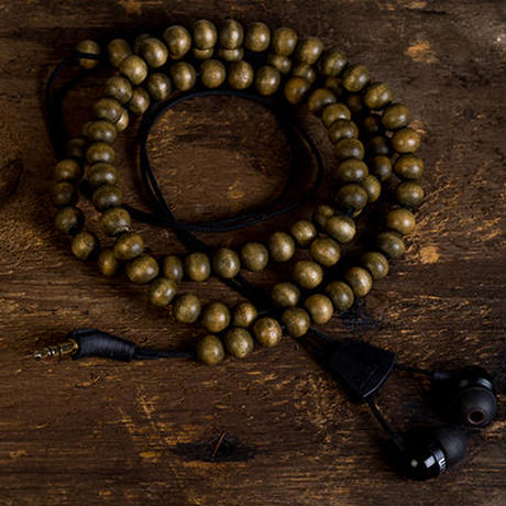 Wraps Natural Walnut Beaded 《WOOD BROWN》
