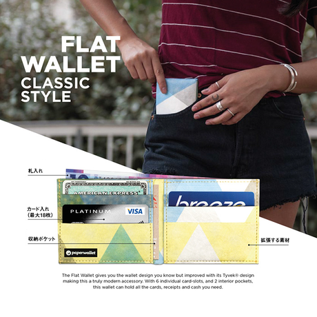 Paperwallet Night Black Flat
