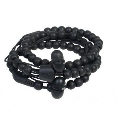 Wraps Natural Ebony Beaded 《WOOD BLACK》