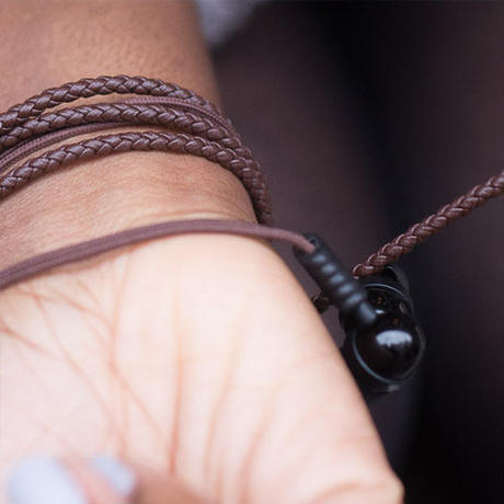 Wraps Natural Noir Leather《BROWN》