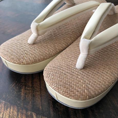 B品 パナマ草履 フリーサイズ