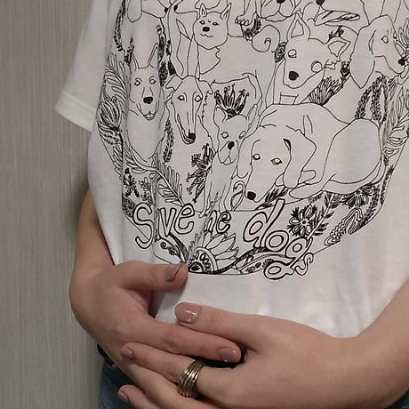 Save the dogs Tシャツ