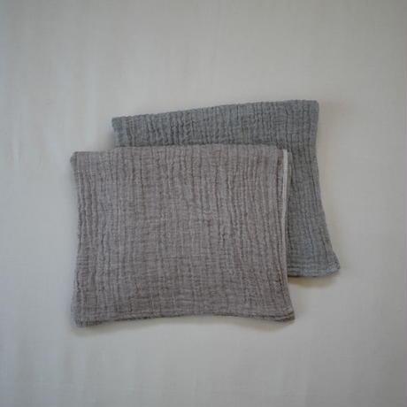 atelier Une place / LINEN W GAUZE TOWEL  –BATH-