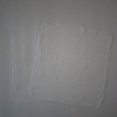 atelier Une place / 60 LINEN  CHIEF -WHITE M-