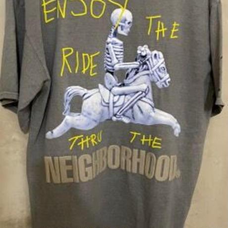 貴重サイズ2XL XL!限定!新品★ CACTUS JACK TRAVIS SCOTT  × NEIGHBORHOOD Carousel TEE  Tシャツ