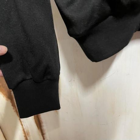 新品タグ付き★Maison Margiela メゾンマルジェラ スリージップ ハイネック ジップアップ ブルゾン 八の字 トラックジャケット 黒
