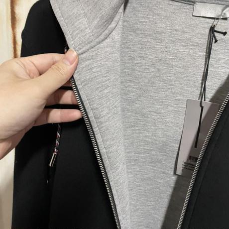 貴重!DIOR ディオールオム Dior Homme ダブルジャージー Bee ジップパーカー フーディー Sサイズ クリス期
