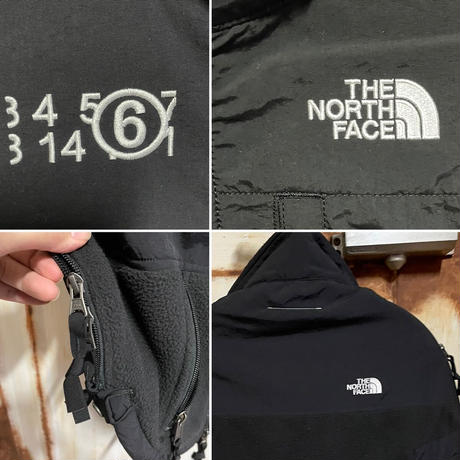 新品タグ付★20FW★Maison Margiela MM6 × THE NORTH FACE Circle フリース トップス ジャケット リバーシブル black S