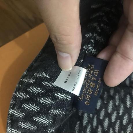 新品 Louis Vuitton NIgo ルイヴィトン コラボ デニム バケットハット 帽子 リバーシブル ブラック 60サイズ