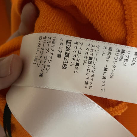 新品★21FW★CELINE Hedi Simane セリーヌ フード & CELINEプリント ルーズ スウェット パーカー