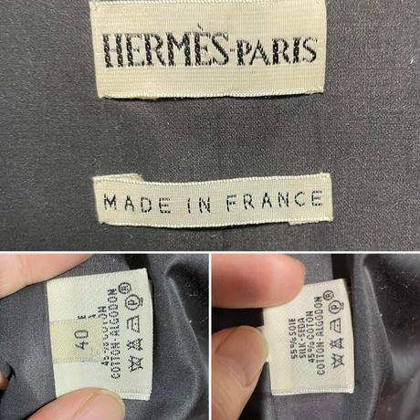 HERMES by MartinMargiela エルメス マルジェラ期 2WAY 中綿 シルクジャケット