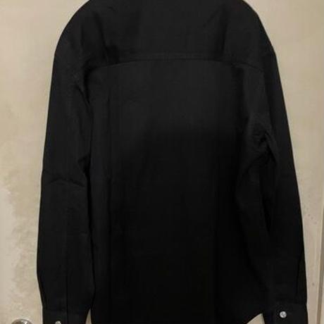 名作!新品★2018AW★DIOR Hommeディオール オム トライバル柄 デニムシャツ  ジャケット ブラック 41