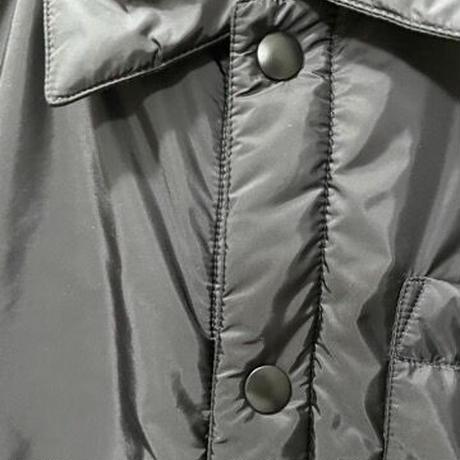 新品21SS★PRADA by Re Nylon 三角プレート ブランドロゴ キルティング中綿 ダウンジャケット オーバーサイズ コーチジャケット ブルゾン