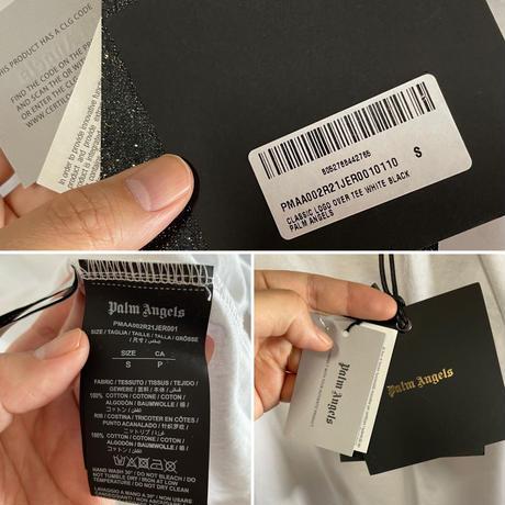 新品タグ付き★Palm Angels パームエンジェルス  LOGO OVER TEE Tシャツ オーバーサイズ  のコピー