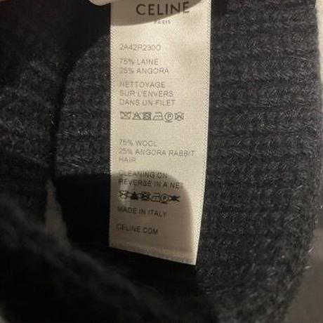 関税・送料込 CELINE ウール ヘッドバンド