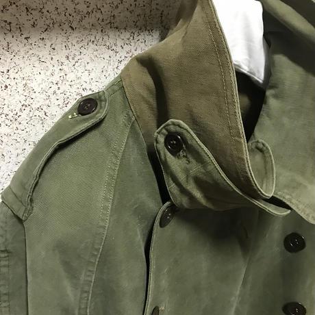 貴重レア★ヴィンテージ フランス軍 モーターサイクルコート M38 初期 後期 FRENCH ARMY M-38 motorcycle coat