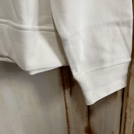 Lサイズ★タグ付き★ JIL SANDER ジルサンダー ブランドロゴ クルーネック スウェット オーバーサイズ ボクシィー ホワイト メンズ 長袖