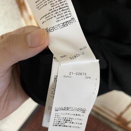 新品タグ付★sacai サカイ × kaws カウズ Tシャツレイヤード風 ロングスリーブ ロンT