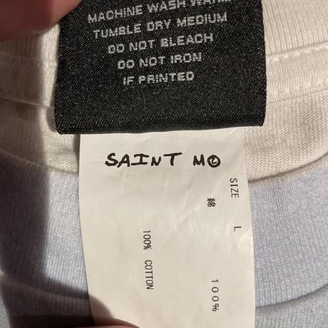 Lサイズ新品 SAINT MICHAEL 21ss MARIA HUG  セントマイケル マリアハグ Tシャツ ホワイト