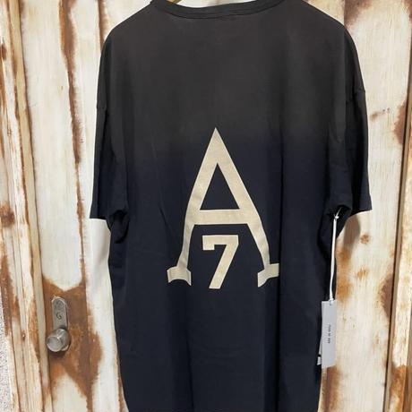 貴重XL★新品タグ付 Fear of God American all stars 7th collection フィアオブゴッド フロッキー ビンテージ加工 ヘンリーTシャツ
