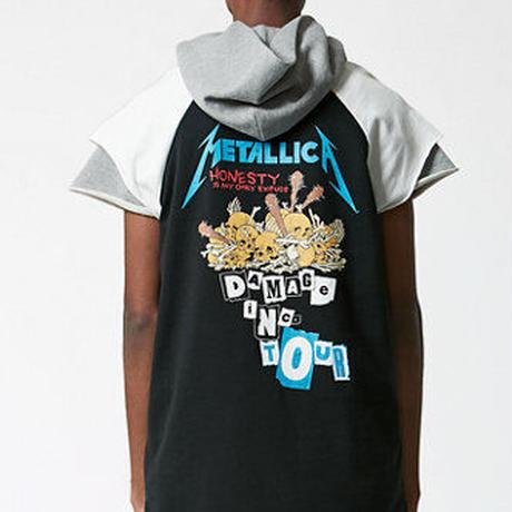 新品タグ付き SS16 FOG FEAR OF GOD METALLICA コラボ カットオフラグランスリーブTシャツ S